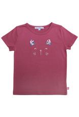 Enfant Terrible Enfant Terrible - Shirt mit Katzengesicht, malve (3-16j)