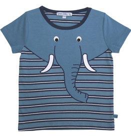 Enfant Terrible Shirt, Streifen und Elefant (3-16j)