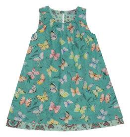 Enfant Terrible Omkeerbaar kleed, Schmetterlinge-Mosaik (0-2j)