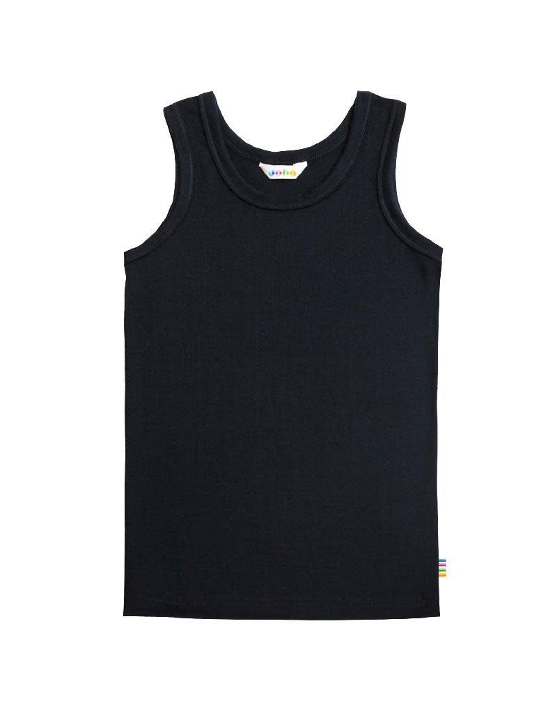 Joha Joha - onderhemdje, wol, navy (3-16j)