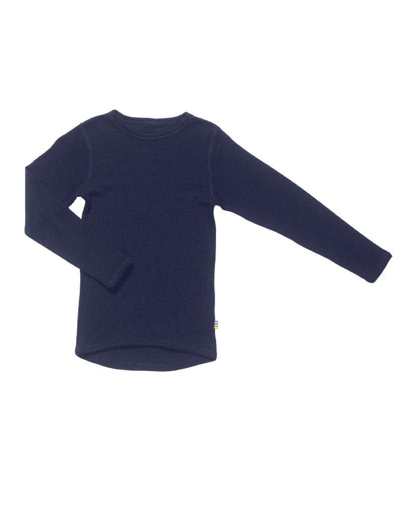 Joha Joha - shirt, wol, navy (3-16j)