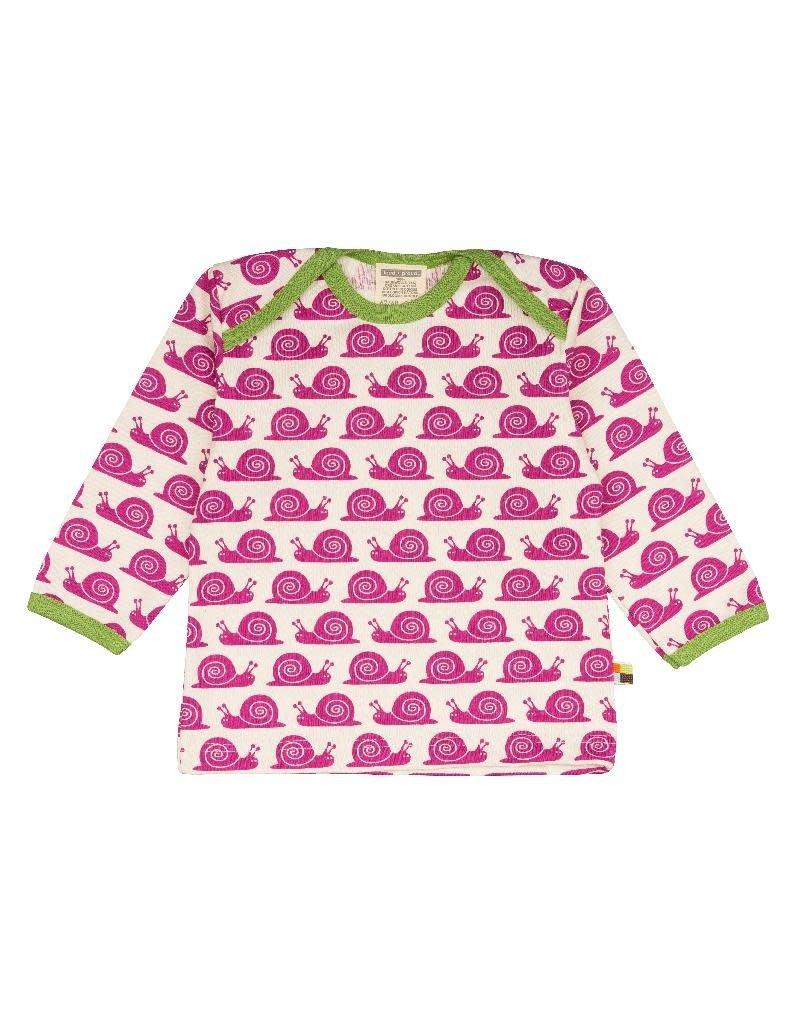 Loud+Proud Loud+Proud - shirt, fuchsia slakken (3-16j)