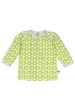 Loud+Proud Loud+Proud - shirt, lime leeuwen (0-2j)