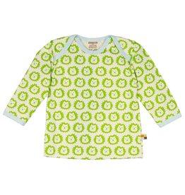 Loud+Proud Shirt, lime leeuwen (0-2j)