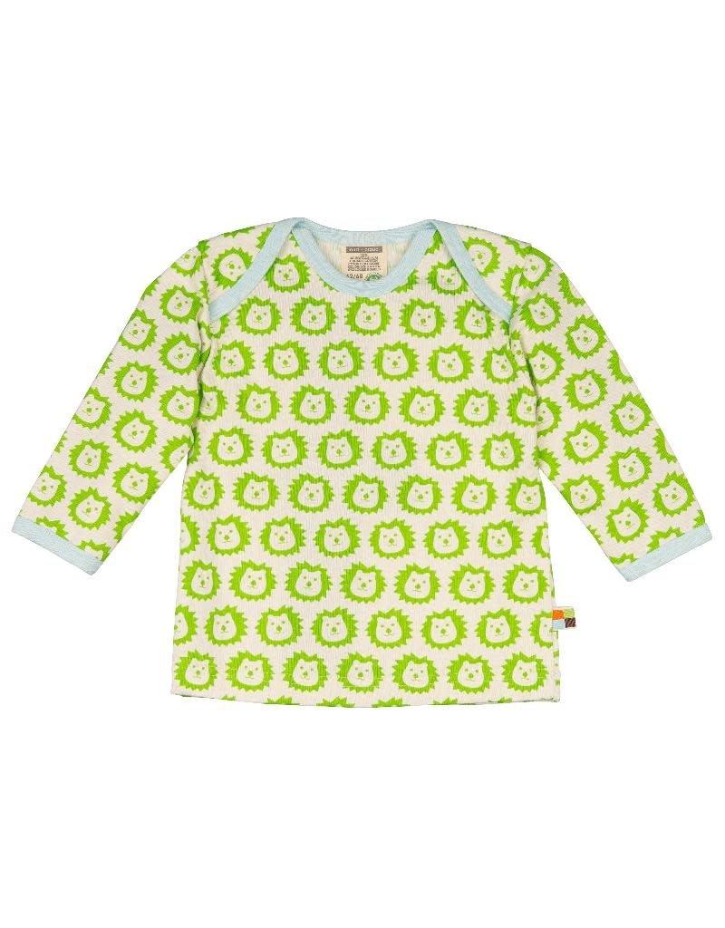 Loud+Proud Loud+Proud - shirt, lime leeuwen (3-16j)