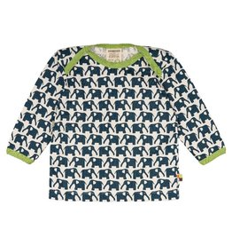Loud+Proud Shirt, marine olifanten (0-2j)