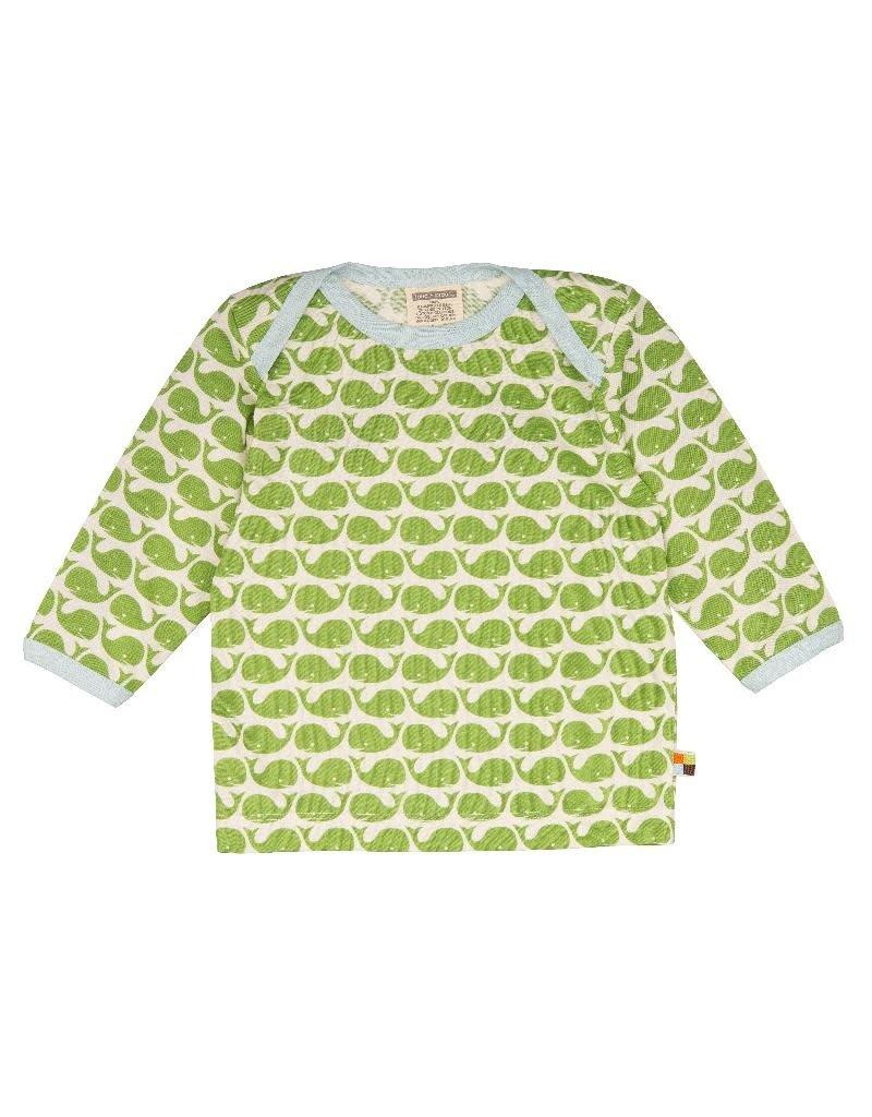 Loud+Proud Loud+Proud - shirt, moose walvissen (0-2j)