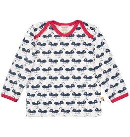 Loud+Proud Shirt, navy mieren (0-2j)