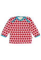 Loud+Proud Loud+Proud - shirt, tomato vogels (0-2j)