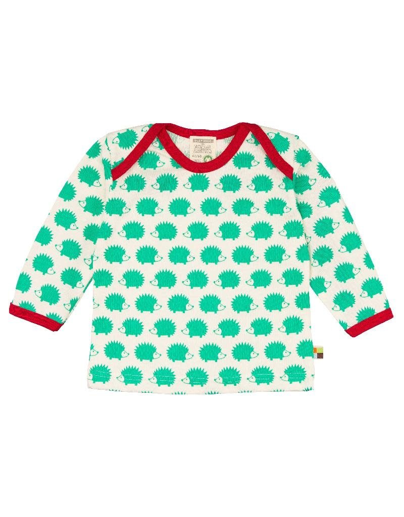 Loud+Proud Loud+Proud - shirt, verde egels (0-2j)