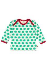 Loud+Proud Loud+Proud - shirt, verde egels (3-16j)