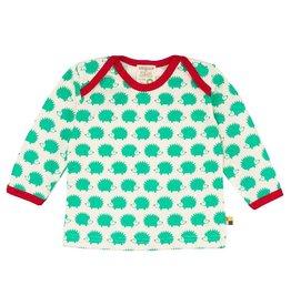 Loud+Proud Shirt, verde egels (3-16j)