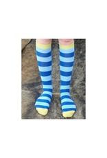 DUNS Sweden DUNS Sweden - kniekous, blauw/lichtblauw, lichtgroene hiel (3-16j)