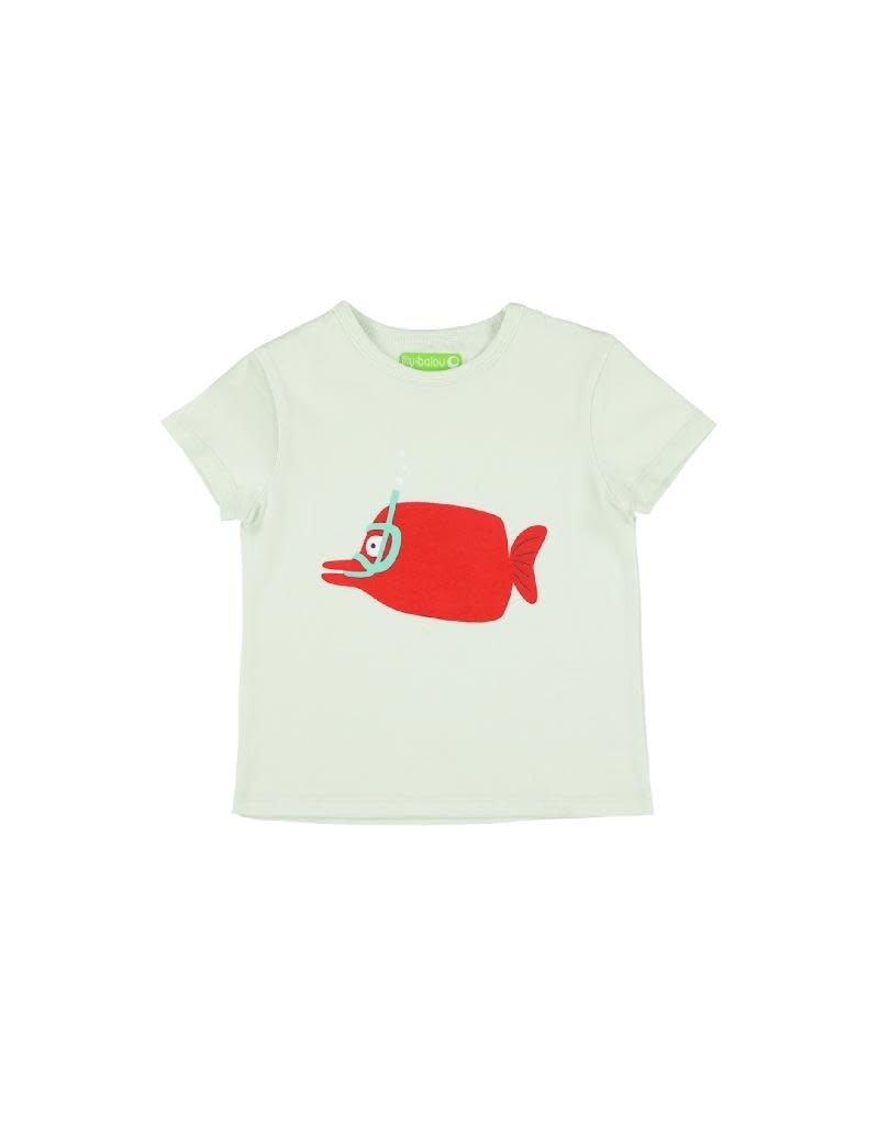 Lily Balou Lily Balou - Louis T-Shirt, clearly-aqua (3-16j)