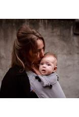 Pure Baby Love Pure Baby Love - Wrap & Go Essentials Organic Dark Grey, baby
