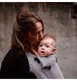 Pure Baby Love Wrap & Go Essentials Organic Dark Grey B