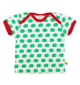 Loud+Proud T-shirt, verde egels (0-2j)