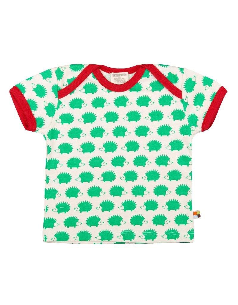 Loud+Proud Loud+Proud - T-shirt, verde egels (0-2j)