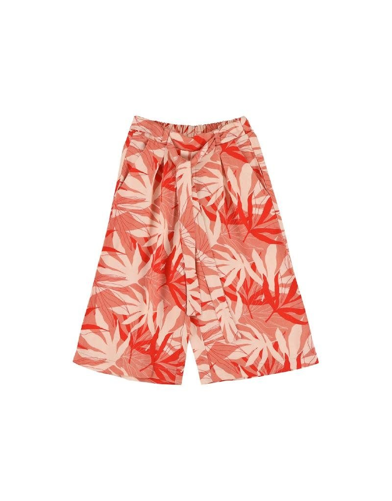 Lily Balou Lily Balou - Lana Wide Trousers, palm-leaves (3-16j)