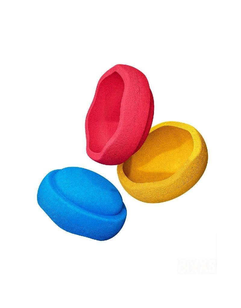 Stapelstein Stapelstein - Primary colors, set van 3
