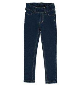 Maxomorra Jeanslegging, Solid Indigo (3-16j)
