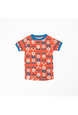 Alba of Denmark Alba of Denmark - Bella T-shirt, Spicy Orange Fairy Tail Flowers (3-16j)