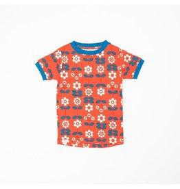 Alba of Denmark T-shirt, Spicy Orange Fairy Tail Flowers (3-16j)