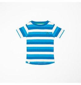 Alba of Denmark T-shirt, Snorkel Blue Stripes (3-16j)