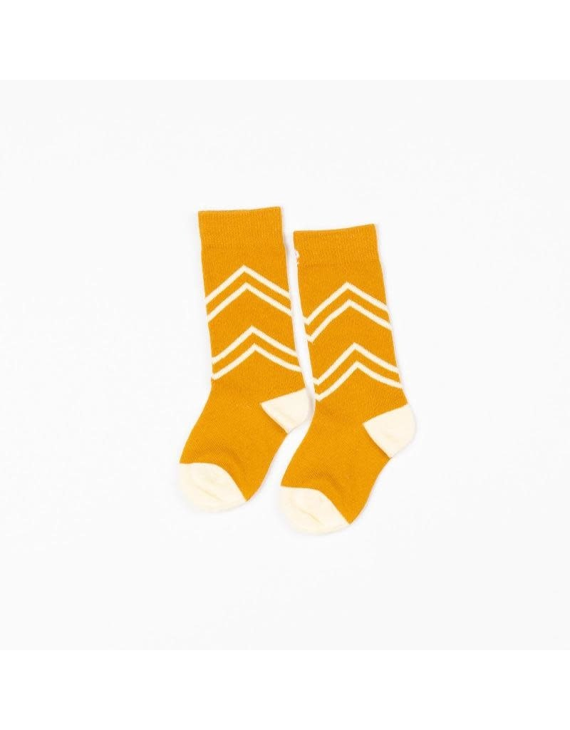 Alba of Denmark Alba of Denmark - Annie Knee Socks, Bright Gold (3-16j)