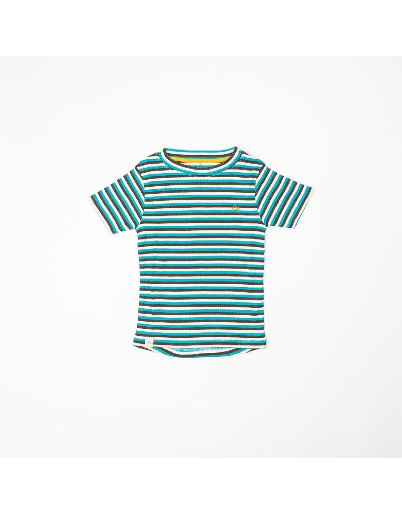 Alba of Denmark Alba of Denmark - The Bell T-shirt, Algiers Blue Stripes (3-16j)