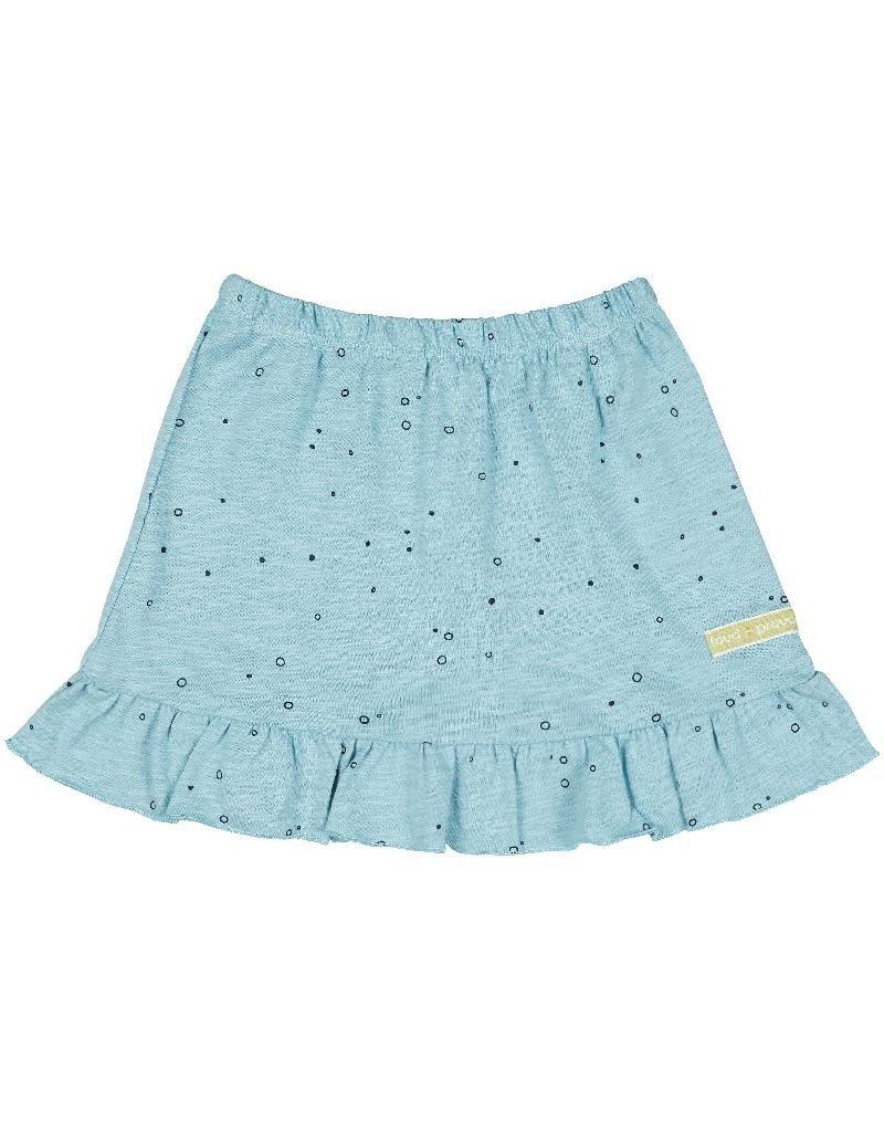 Loud+Proud Loud+Proud - Skirt slub jersey, lagoon (3-16j)