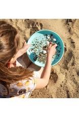 Quut Quut - Frisbee & Sand Sifter, 2-in-1, vintage blue