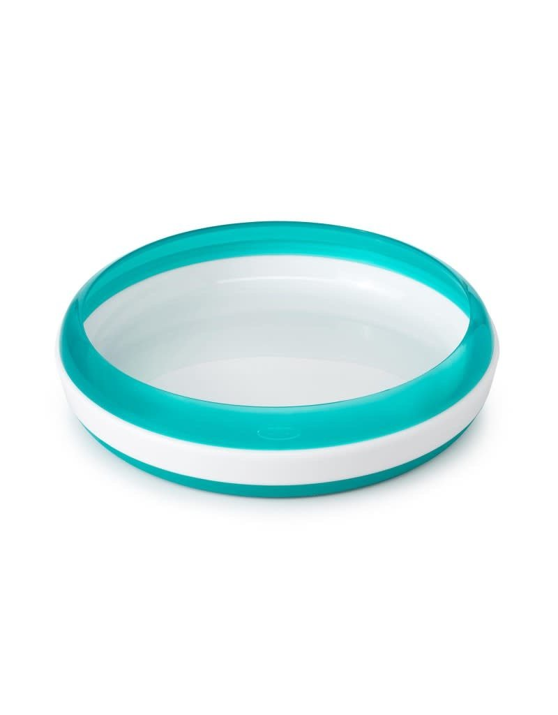 Oxo Tot Oxo tot - training plate with removable ring, teal