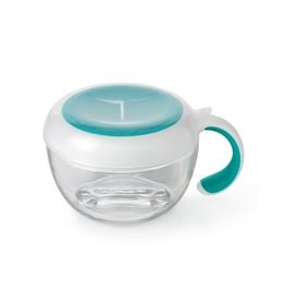 Oxo Tot Flippy Snack Cup, teal
