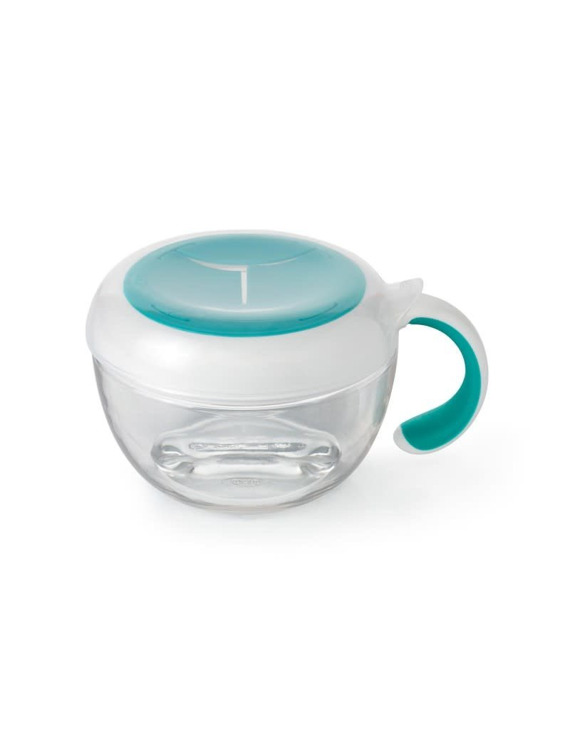 Oxo Tot Oxo tot - Flippy Snack Cup with travel cover, teal