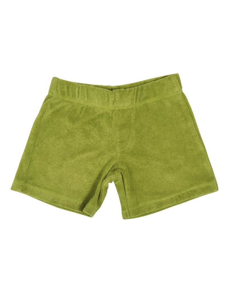 DUNS Sweden DUNS Sweden - Terry Short Pants, Spinach green (3-16j)