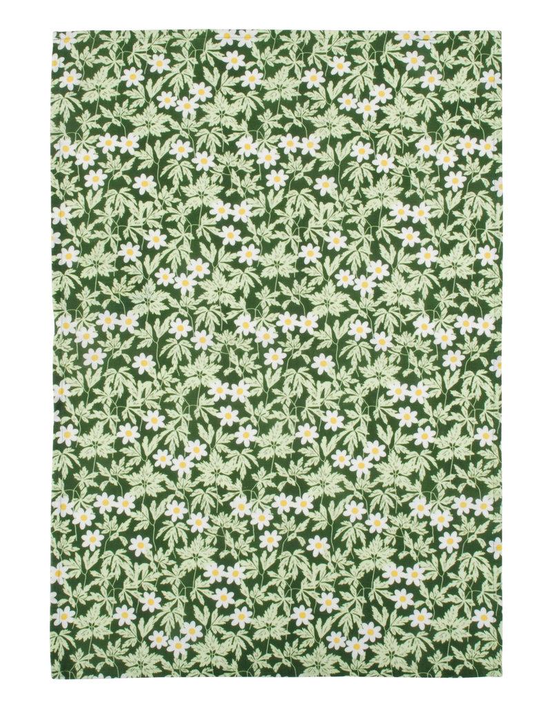 DUNS Sweden DUNS Sweden - Kitchen Towel, cotton/linen, Wood Anemone Green