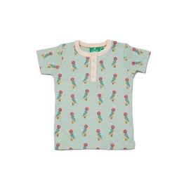 Little Green Radicals T-Shirt met knoopjes, Little Woodpecker (3-16j)
