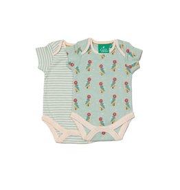 Little Green Radicals Body Set, Little Woodpecker (0-2j)