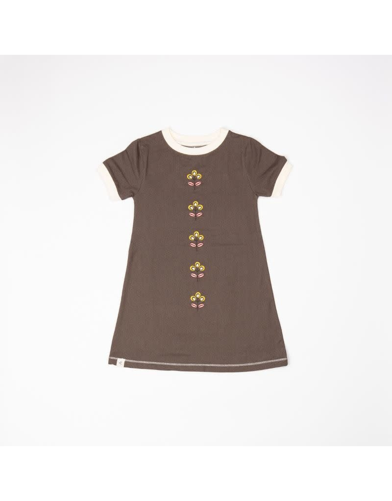 Alba of Denmark Alba of Denmark - Smilla dress, chocolate brown (3-16j)