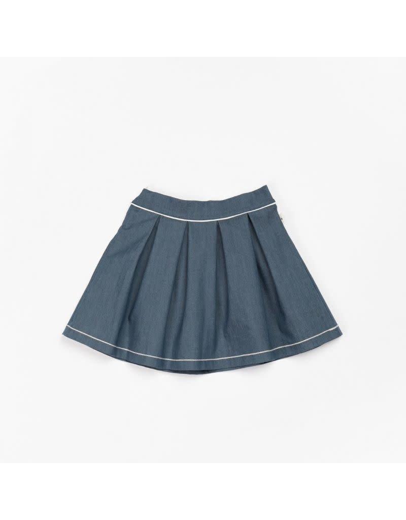 Alba of Denmark Alba of Denmark - Nelly skirt, dark denim (3-16j)