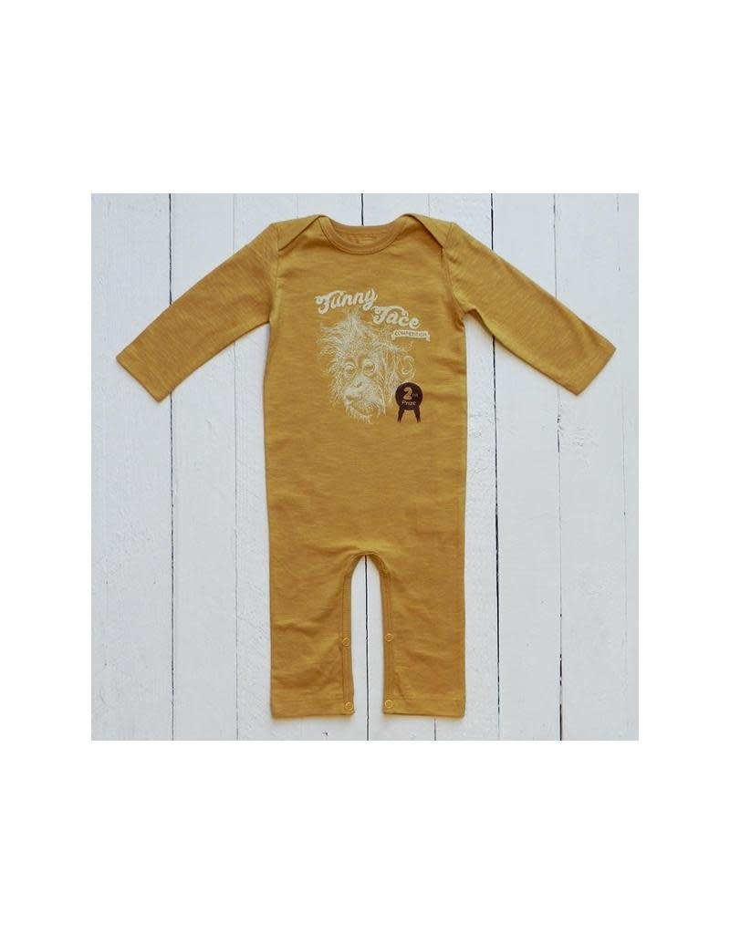 Lion of Leisure Lion of Leisure - jumpsuit, ocher, Funny Face competition