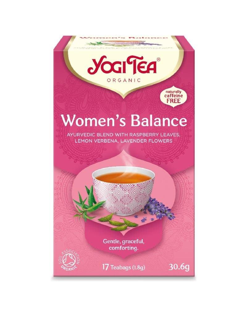 Yogi Tea Yogi Tea - Women's Balance, builtjes