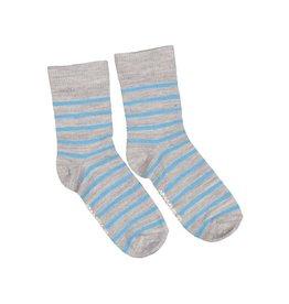 Geggamoja Kous, grijs/blauw (3-16j)
