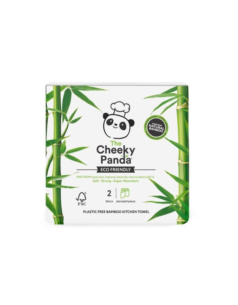 The Cheeky Panda The Cheeky Panda - Keukenpapier, 2 rollen, bamboe