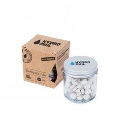 Hydrophil Tandenpoets tabletten, salie met fluor