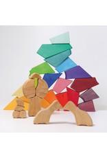 Grimm's Grimm's - bouwset, Rainbow lion
