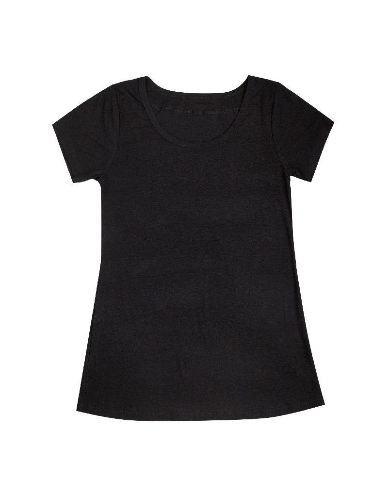 Joha Joha Woman - T-shirt, bamboe viscose, zwart