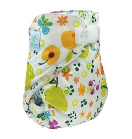 One size cover met snaps, fruits