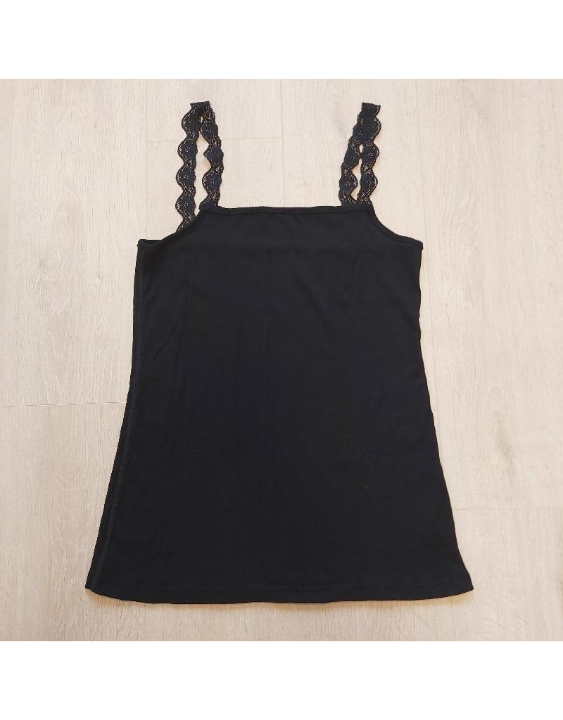 Joha Joha Woman - topje, wol/zijde, zwart